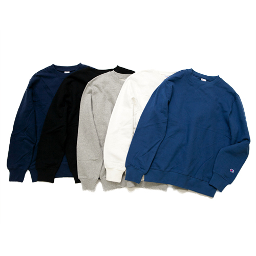 EMBROIDARY CREW NECK SWEAT SHIRT