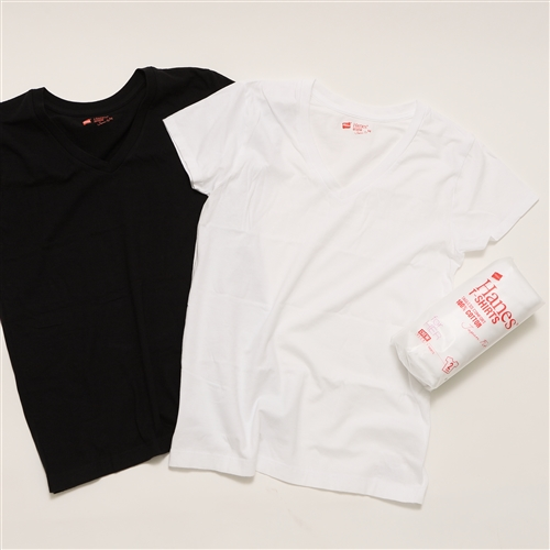 2P JAPAN IT FOR HER Vネック Tシャツ