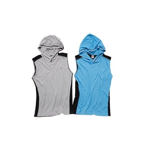 SLEEVELESS HOODY(FIT STYLE)