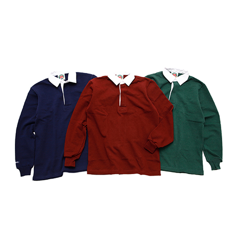 RUGBY SHIRT L/S SOLID