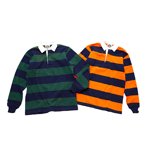 RUGBY SHIRT L/S ALTERNATIONG STRIPES