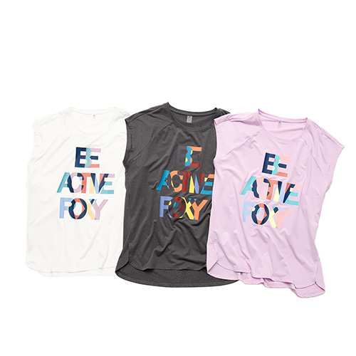 BE ACTIVE ROXY TEE