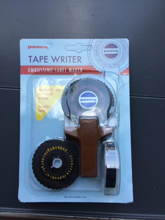 penco - TAPE WRITER -